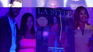 BTS: Vivica A. Fox x LA Style Mag Cover Reveal Party - THANKFUL