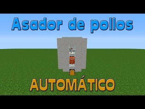 Tutorial Minecraft | Asador De Pollos Automático
