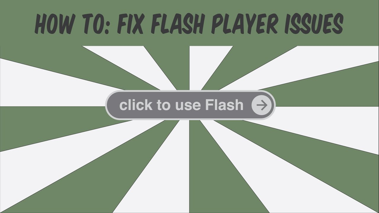 Step 1: Allow Flash on the site