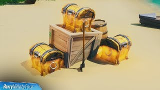Search Chests Within 30 Seconds of Each Other Easy Guide - Fortnite (Smash & Grab Challenge)