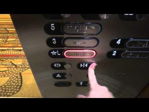 Hotel MINI tour:otis High Speed elevator @ grand hyatt hotel san antonio tx