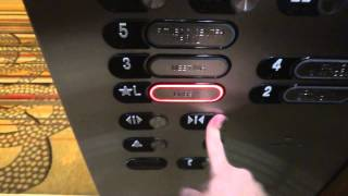 Hotel MINI tour:otis High Speed elevator @ grand hyatt hotel san antonio tx