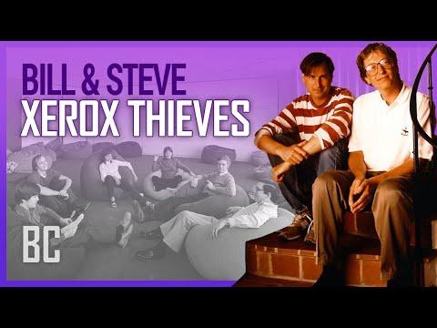 The Xerox Thieves: Steve Jobs & Bill Gates
