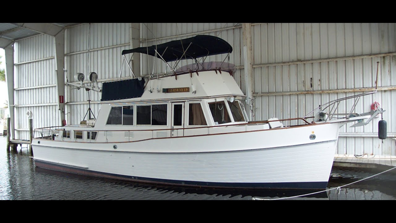 guinevere  42 u0026 39  grand banks classic trawler - sold