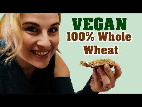 Vegan Whole Wheat Bread In The BREAD MAKER | Baking Vegan Bread