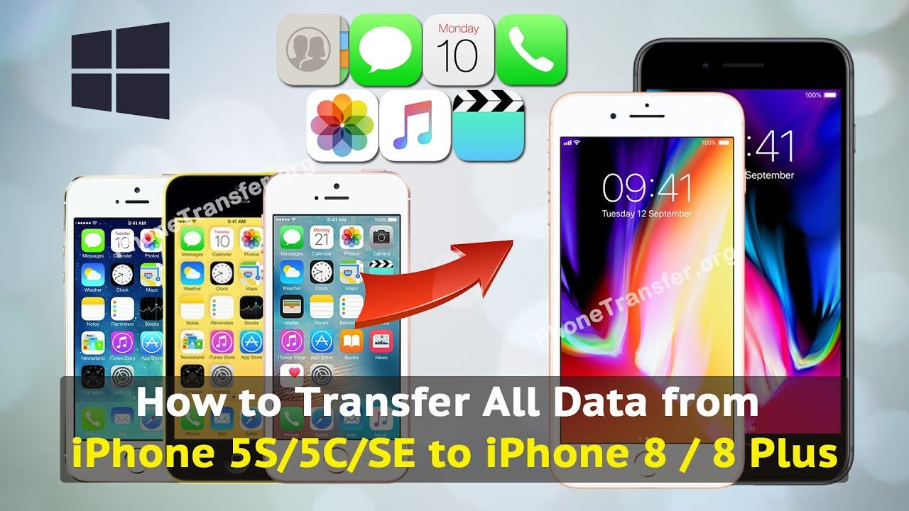 transfer all data to new iphone how to transfer all data from iphone 5s 5c se to iphone 8 2107