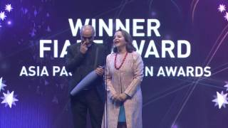 Asia Pacific Screen Awards -   FIAPF Award for Outstanding Achievement in Film