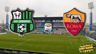 Прогноз на матч Чемпионата Италии Сассуоло - Рома смотреть онлайн бесплатно 03.04.2021