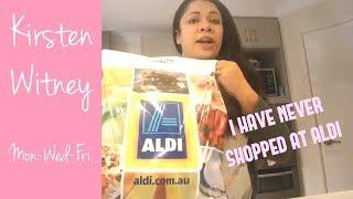DAY IN THE LIFE | I have never shopped at ALDI | ALDI HAUL