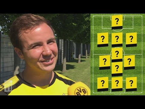 'My Dream Team' 💭 | Mario Götze's BVB Legends Line-Up