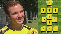"""""""My Dream Team"""" 💭   Mario Götze's BVB Legends Line-Up"""