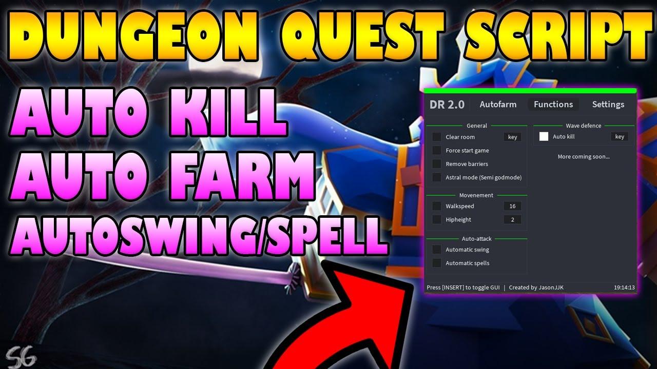 Dungeon Quest Script Pastebin Working 2021 Autofarm Youtube