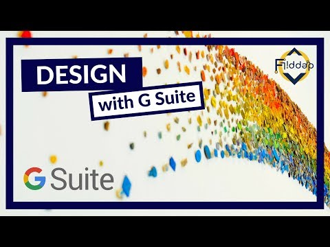 Designing in G Suite, my Timelapse of Logo and Design Language