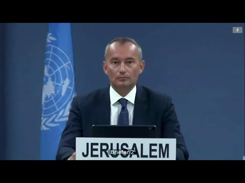Grave Concern Over Threats Of The Israeli Annexation Of Palestine - UN Special Coordinator Mladenov