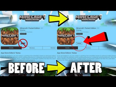 How to download Minecraft Pocket Edition FREE - Android & iOS