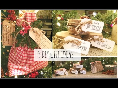 5 DIY Christmas Gift Ideas! Easy & Affordable | SoJustine