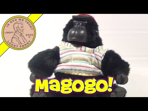 Magogo Macarena Gorilla Sings & Dances - Clapper Sound Activated