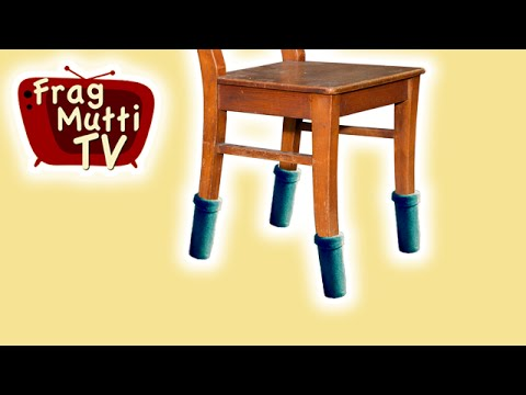 Beliebt Tisch- & Stuhlsocken nähen | Frag Mutti TV LL48