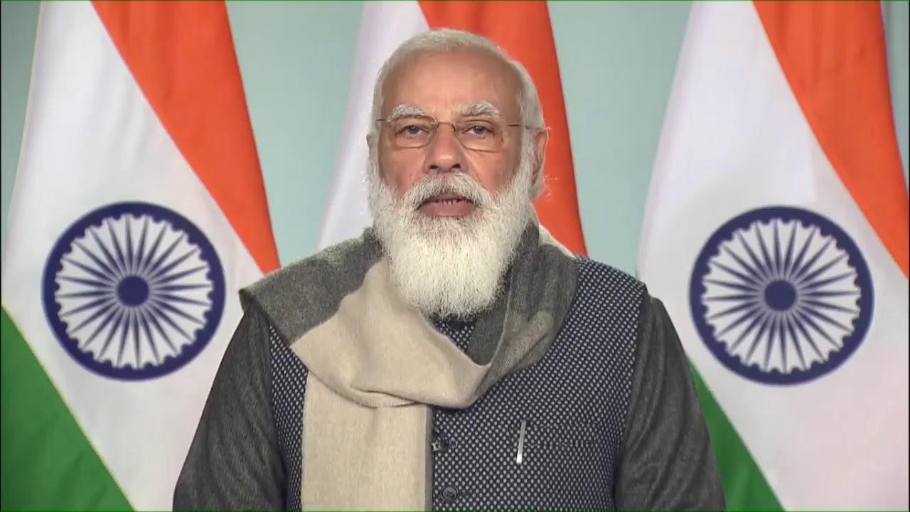 PM Shri Narendra Modi addresses Global Climate Adaptation Summit (CAS) 2021 via video conferencing.