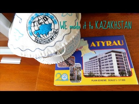 We made it to Kazakhstan!