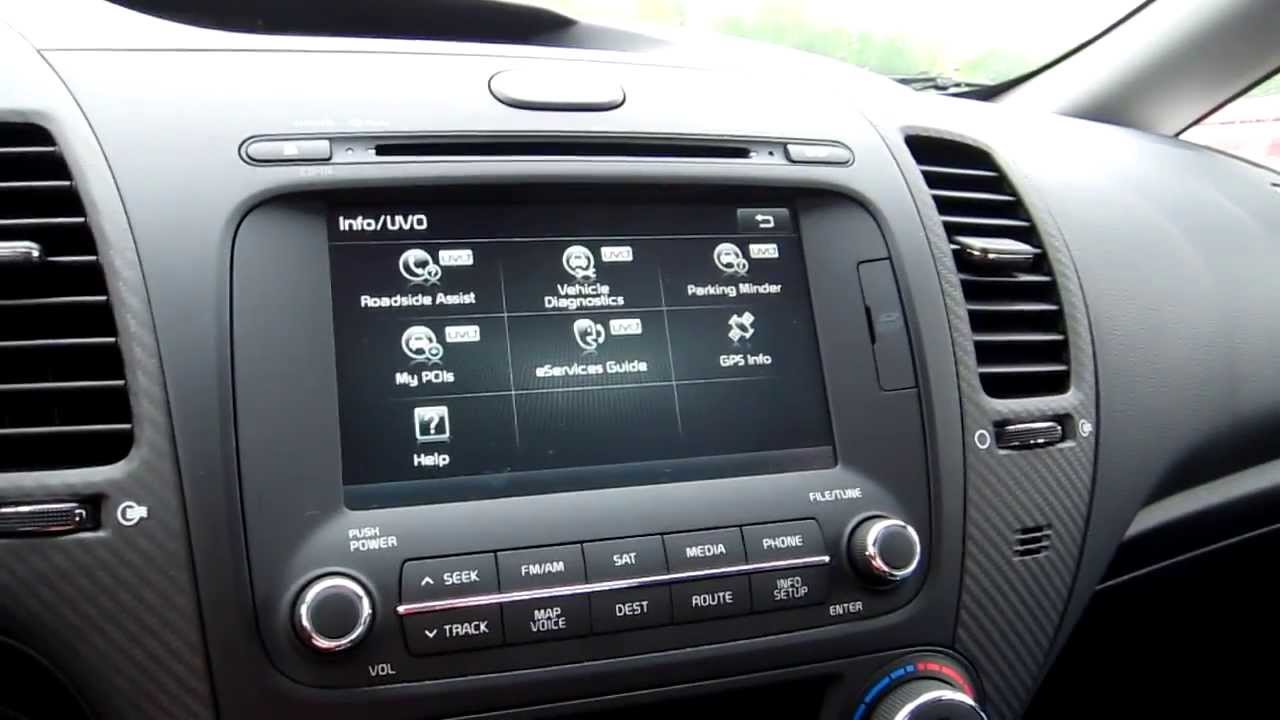 IHS Auto Reviews: Kia UVO eServices Demonstration - YouTube