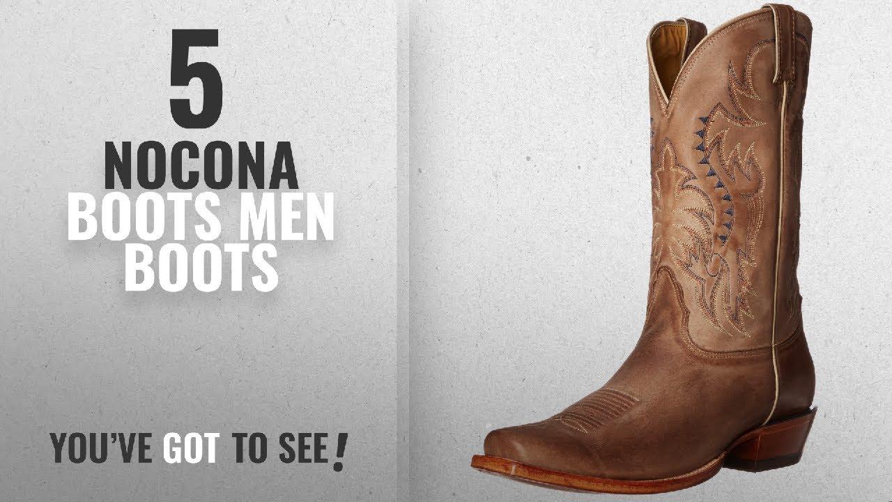 2b7bc510d3b Top 10 Nocona Boots Men Boots [ Winter 2018 ]: Nocona Boots Men's Legacy L  Toe Boot,Tan,12 D US
