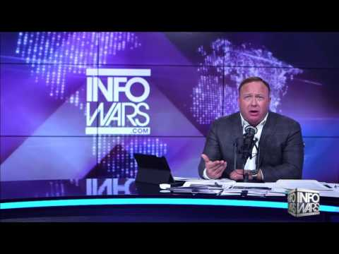 Alex Jones full interview with James Wesley Rawles; Military will back Trump
