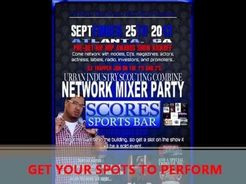Urban Industry / I20 Ent  Network Mixer Bet Hip Hop Award Showcase