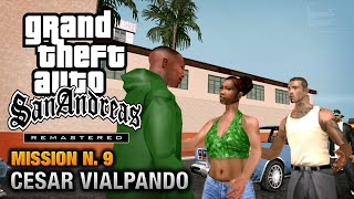 gTA San andreas mission 9 - cesar vialpando easy trick to complete  (100 WORKS)