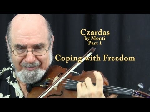 Czardas Masterclass with Roy Sonne from the School of Violin Artistry
