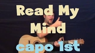 Read My Mind (The Killers) Easy Strum Guitar Lesson How to Play Tutorial
