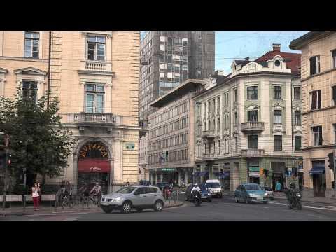 Ljubljana - Decades in 141 seconds