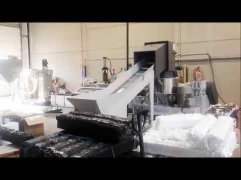la machine de recyclage du plastique