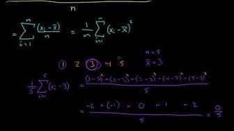 Statistikk 3 - Varians