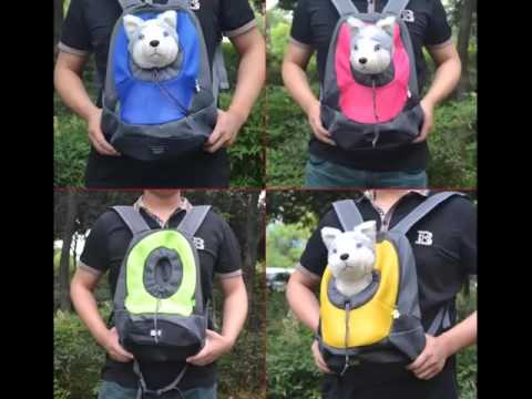 Pictures Of Dog Backpack Carrier | Dog Backpack Carrier Dogs - YouTube