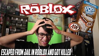 Eating Root Beer Pop Tarts and Playing ROBLOX