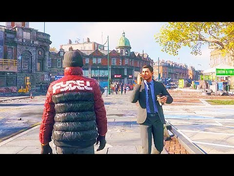 WATCH DOGS LEGION 46 Minutes Of Gameplay (Open World Game 2020) Watch Dogs Legion Gameplay Trailers