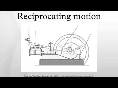 Reciprocating motion