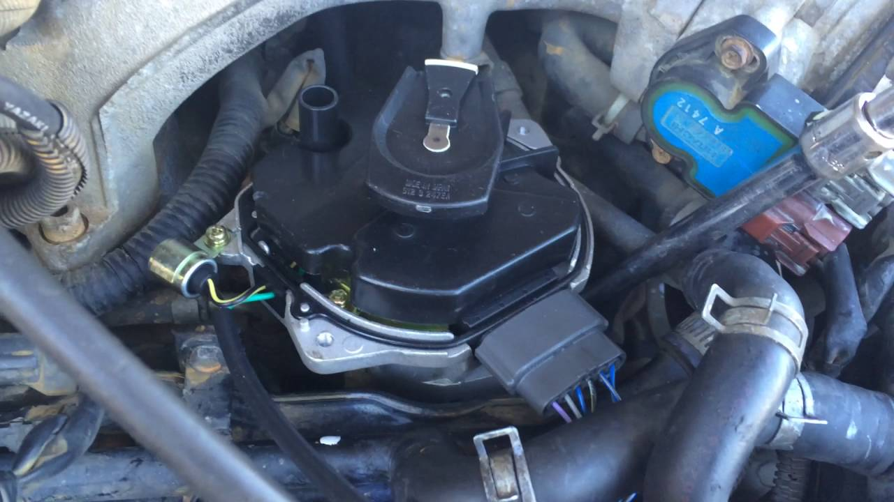 1997 Nissan Pathfinder Richport N60 Distributor Rotor Backed Out