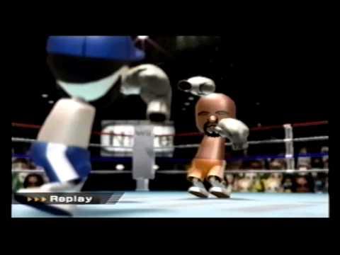 Wii Sports Boxing vs. Matt @ Level 3124