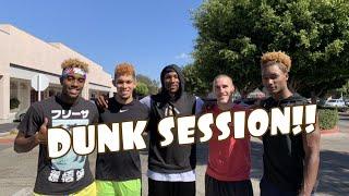 Chris Staples, Tee FlyingHigh, Isaiah Rivera, Elijah Bonds: Dunk Session Video