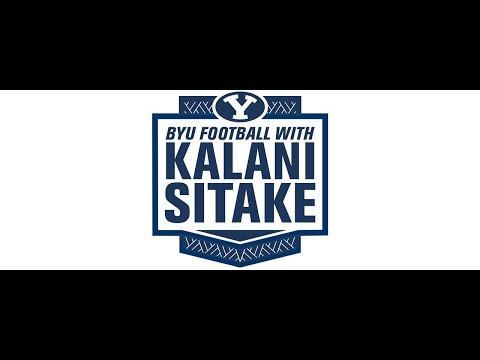 BYU Football with Kalani Sitake - October 30, 2018