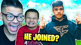 IF YOU WIN FORTNITE YOU JOIN FAZE CLAN CHALLENGE!!! **FAZE KAY PRANKS KAYLEN** INSANE BRO!!