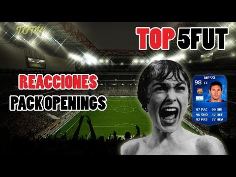 FIFA 14 | TOP 5 REACCIONES PACK OPENING | Toty #3