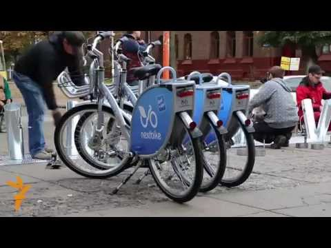 Lviv Gets Ukraine's First Bike Sharing Scheme
