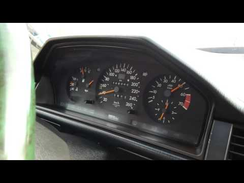 Mercedes-Benz W124 2.0 Turbo 0-100