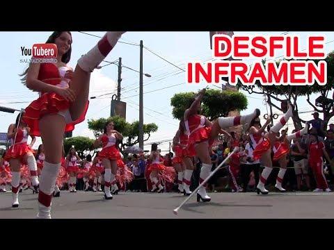 INFRAMEN Desfile Civico 15 de Septiembre 2017 - Parte 4 el Salvador svl