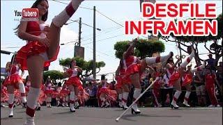 INFRAMEN Desfile Civico 15 de Septiembre 2017 Cachiporras Salvadoreñas san salvador el Salvador svl