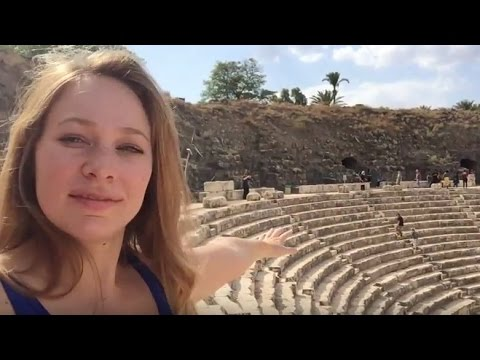HOLY LAND - ROMAN RUINS AND BETHLEHEM PALESTINE - VLOG
