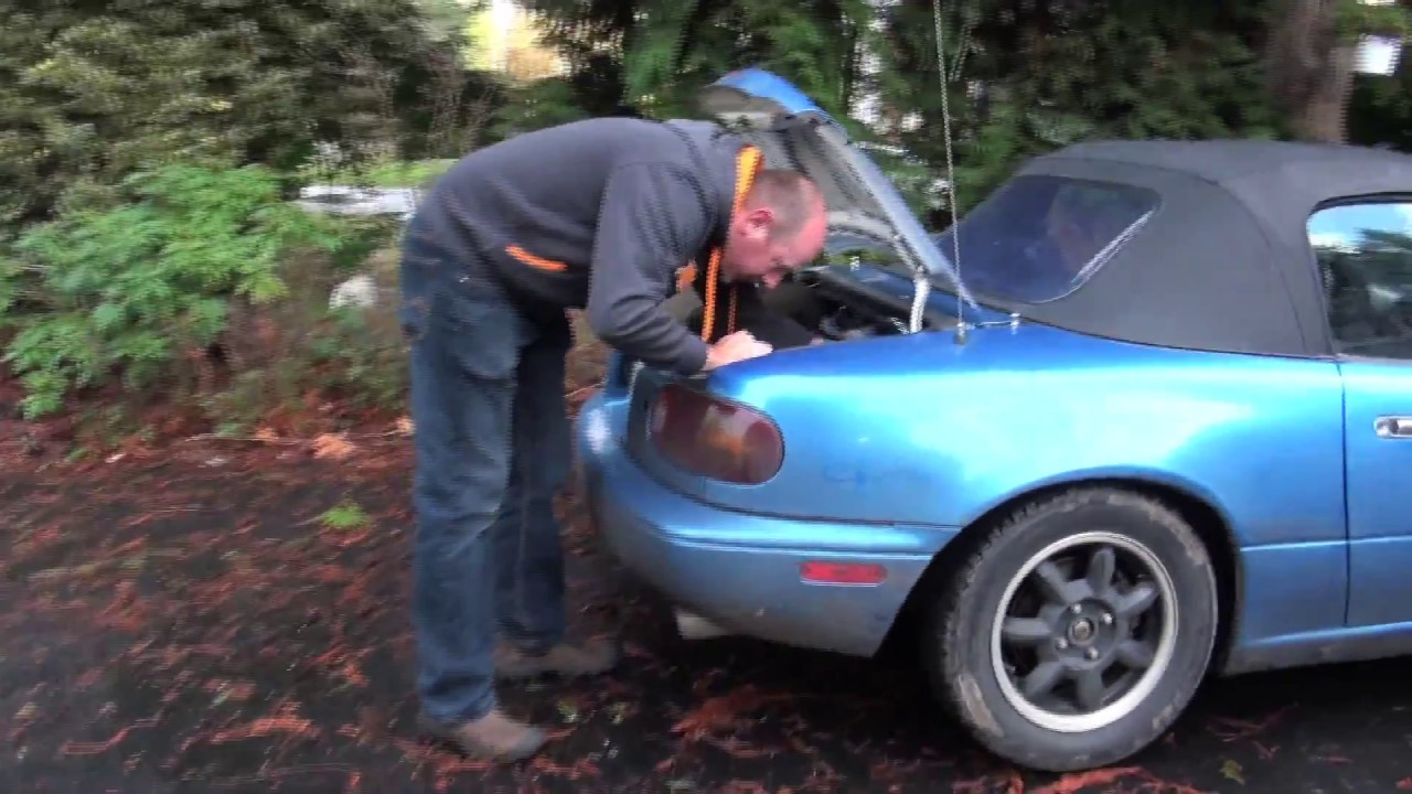 Miata Mx 5 1991 Model Battery Replacement Street